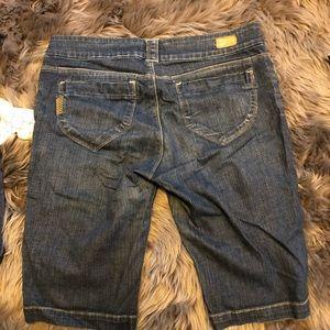 PAIGE Jeans - Paige Denim Mid length Shorts